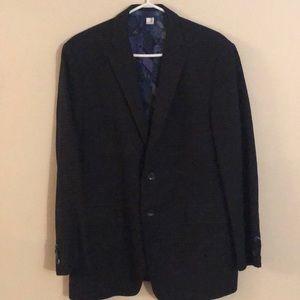 ETRO single breasted checked blazer jacket